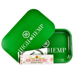 High Hemp High Hemp Rolling Tray & Magnetic Lid Combo