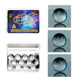 GLASS BALL CARB CAPS - ZODIAK - #0457