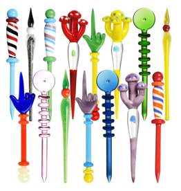 """Funky Glass Dabbers 