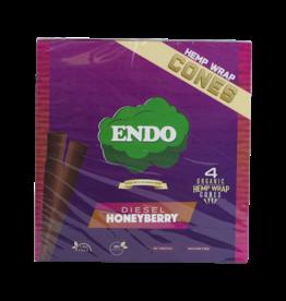 Endo Organic Hemp Cones 4pk - Diesel Honeyberry