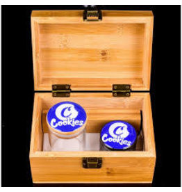 Cookies Bamboo Box / Jar / Grinder Medium Cookies Logo