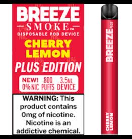 Breeze Breeze Plus Disposable 0% Nic  - Cherry Lemon
