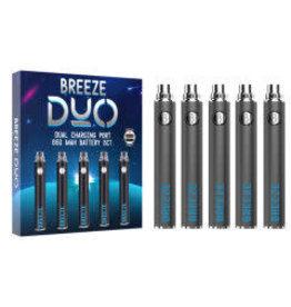 Breeze Breeze Duo 650Mah Battery - 5pk BOX - #9158