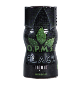 O.P.M.S. OPMS Black Liquid Kratom Extract 1ct