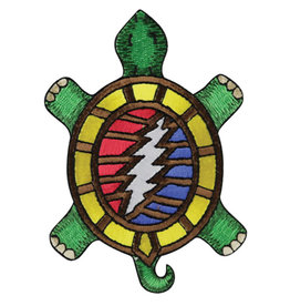 "Grateful Dead Terrapin 13 Point Bolt Patch - 3""x4"" - #0707"