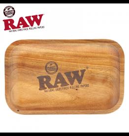 Raw RAW Mahogany Wood Tray