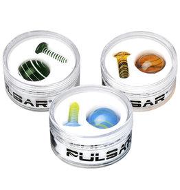 Pulsar Pulsar Terp Slurper Screw & Marble Set   2pc   Colors Vary - #0414