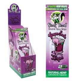 Skunk Brand Skunk Brand Hemp Wraps 2pk - Grape Soda