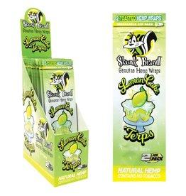 Skunk Brand Skunk Brand Hemp Wraps 2pk - Lemon Cake