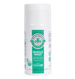 CBD Oil Biotech Muscle Magic Joint Relief Cream 500mg 1ct