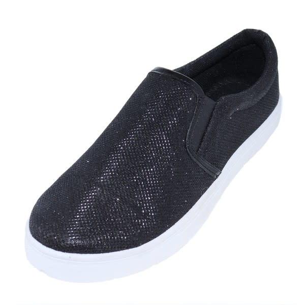 H2K Glitter slip on shoe