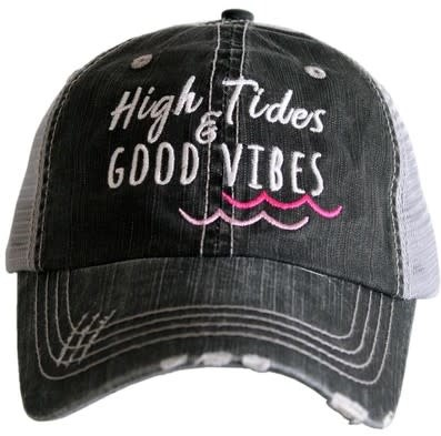 High Tides Good Vibes Pink