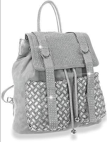 Dazzling Rhinestone Fashion Backpack