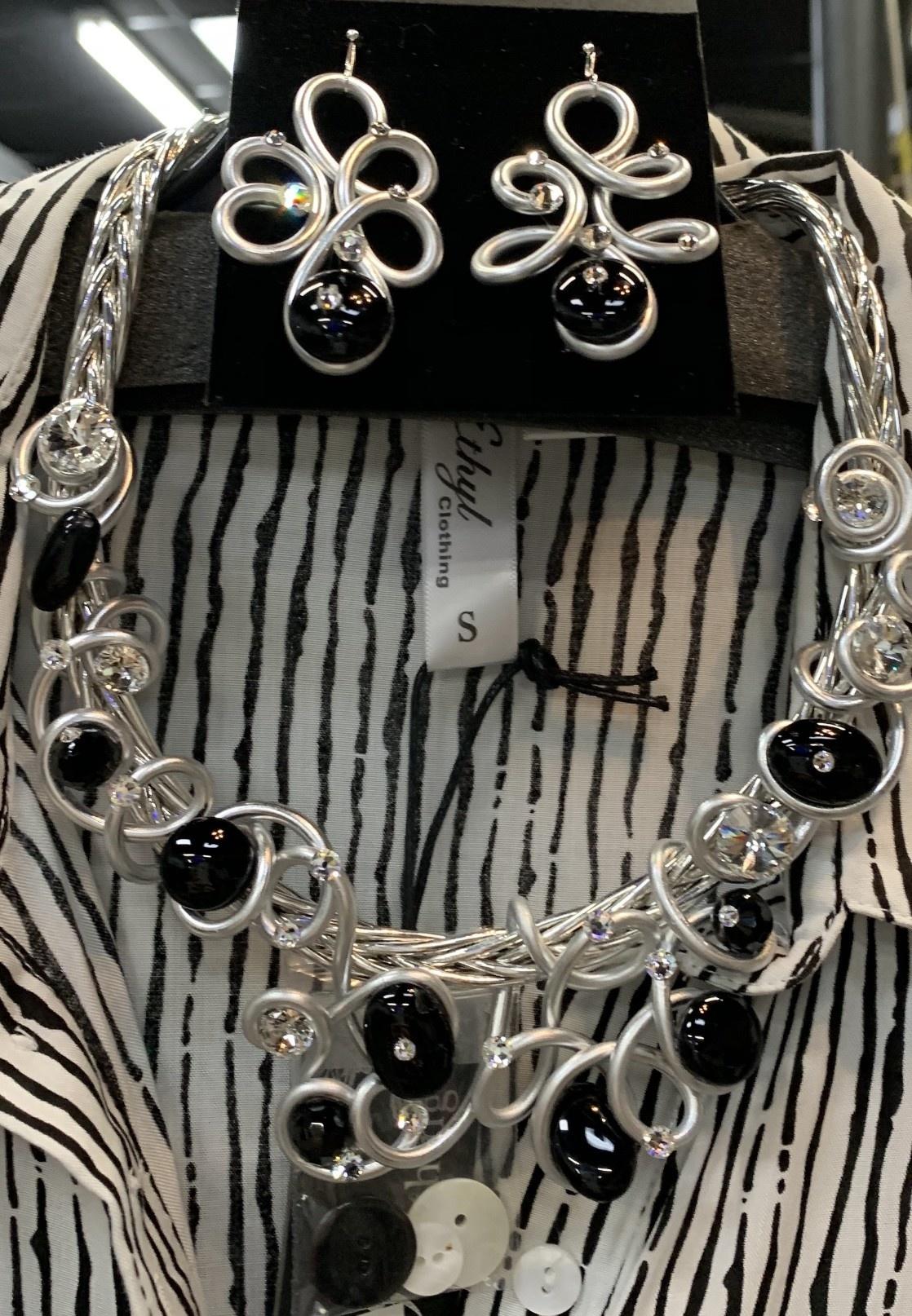 Custom Choker & Earring Set