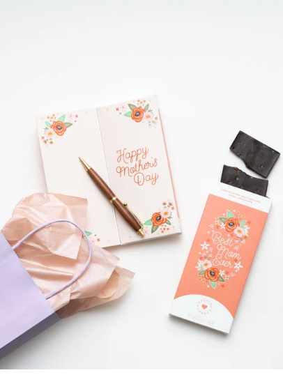 Gourmet Chocolate Bars with Card.