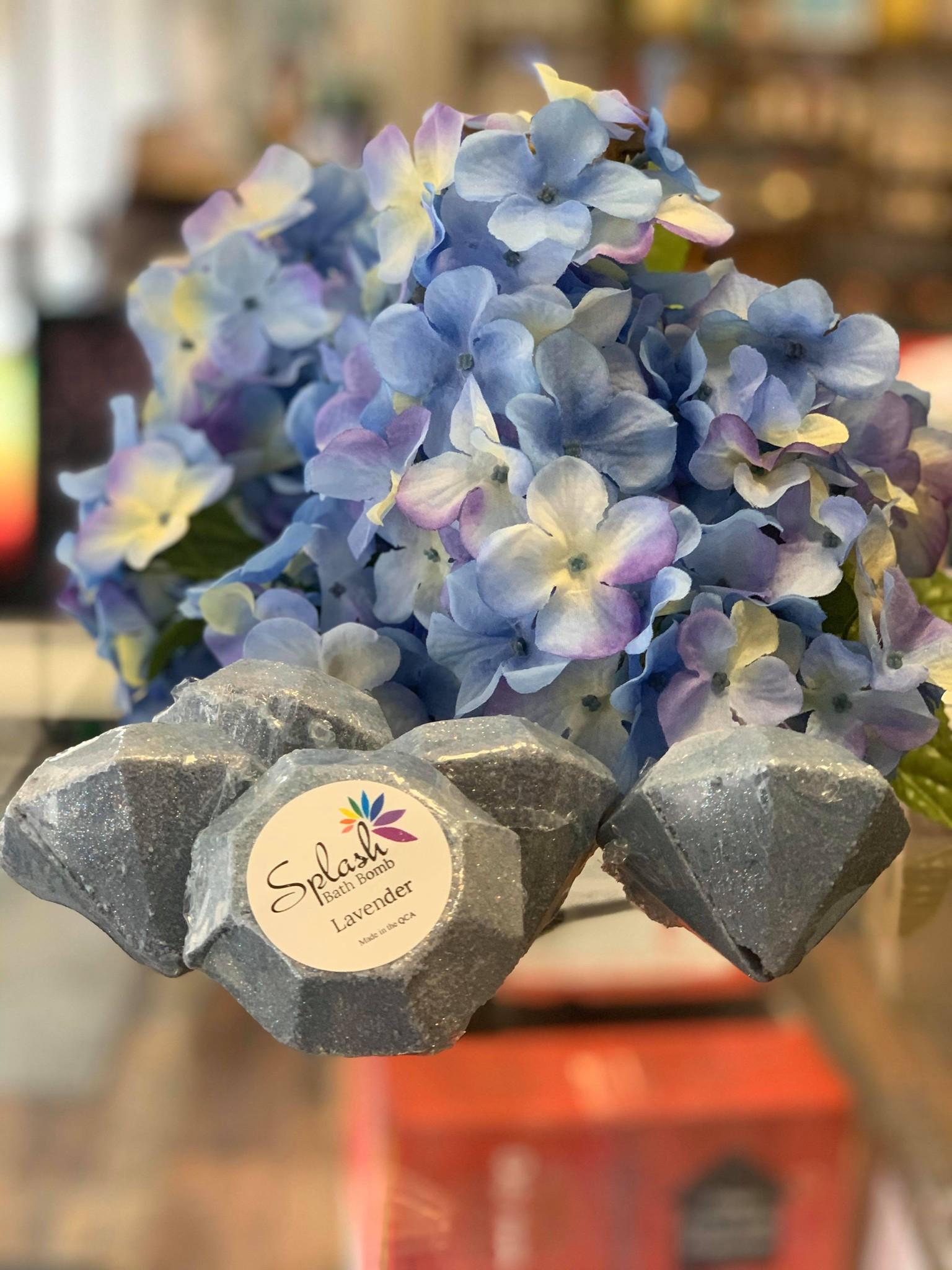 Bath Bomb Diamond- Lavender