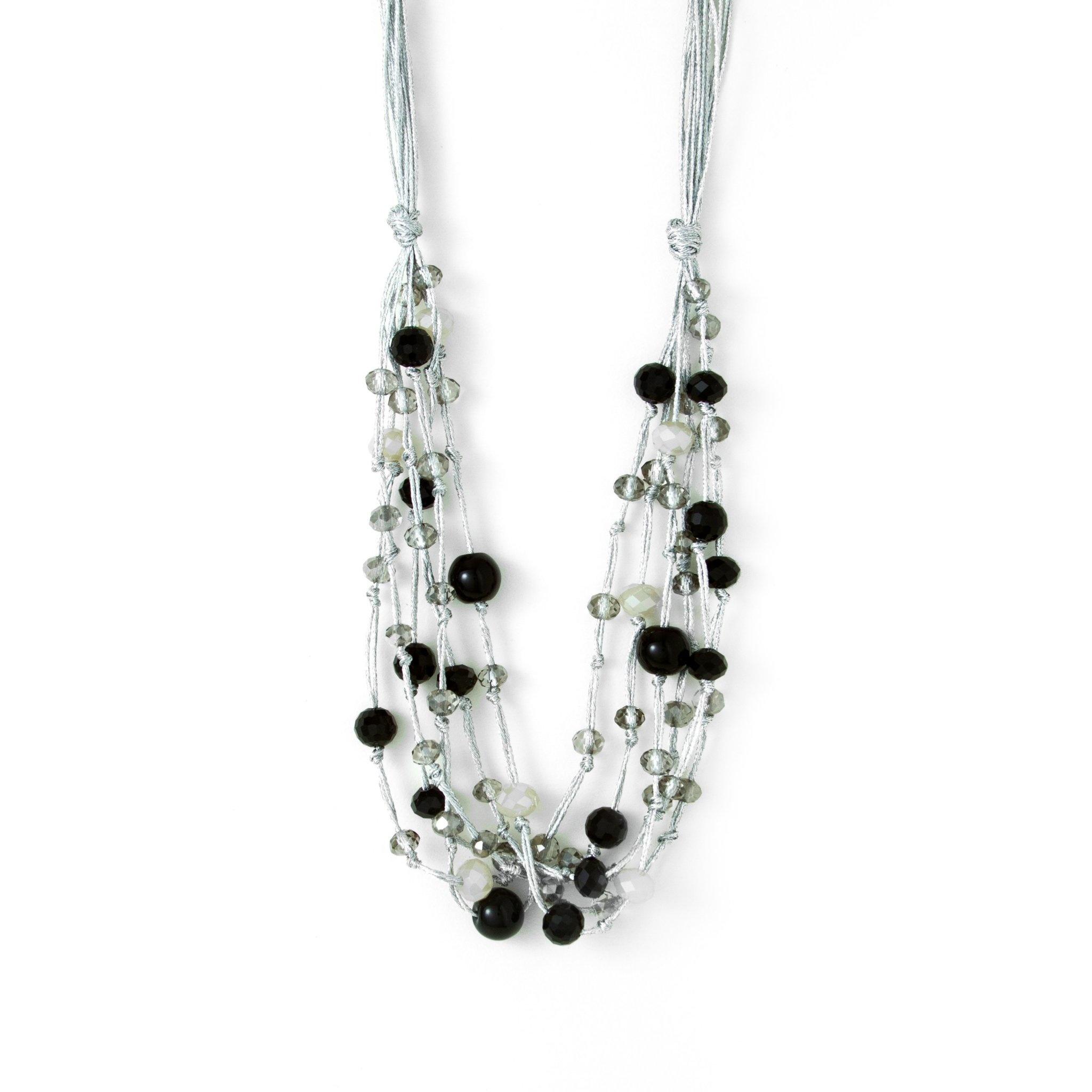 Black tone metallic multi layer Silver