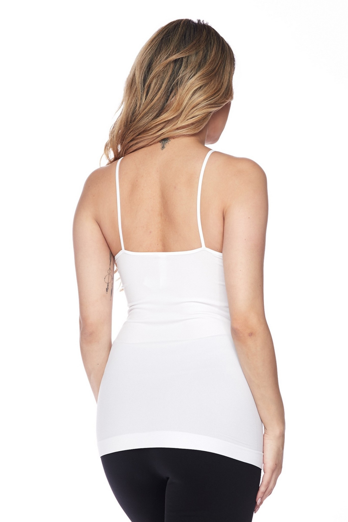 Women's Seamless Strappy Detail Cami Top