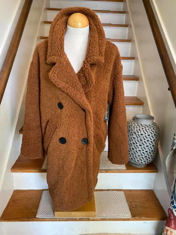 Sherpa Pea Coat