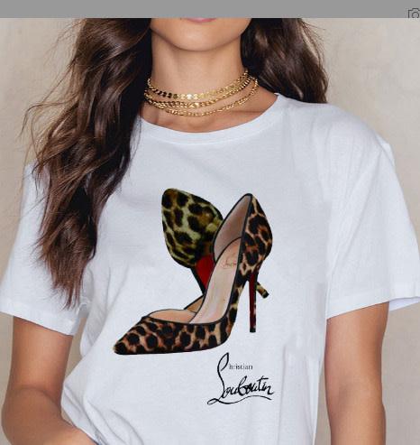 Leopard Shoe T