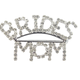Bride's Mom Rhinestone Brooch
