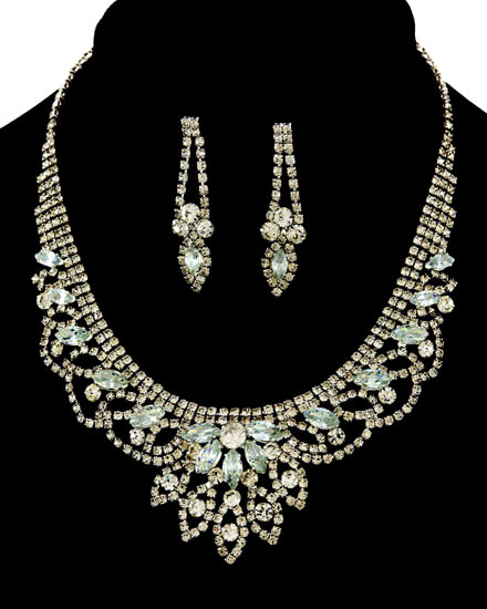 NECKLACE & EARRING SET -812