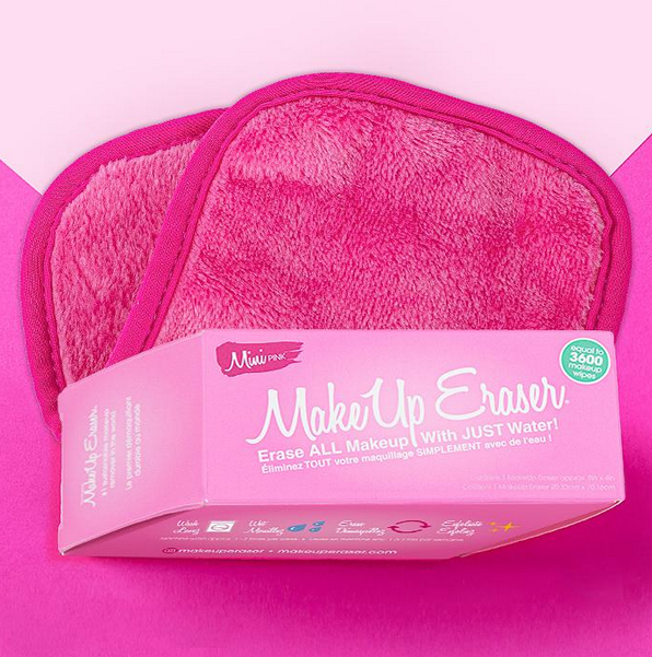 Mini Pink Makeup Eraser