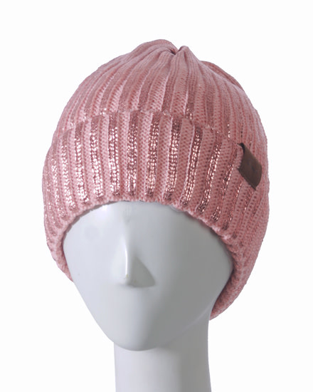 STOCKING HATS - ROSE GOLD/PINK