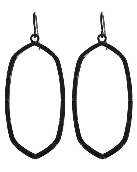 EARRING SET - BLACK 587907