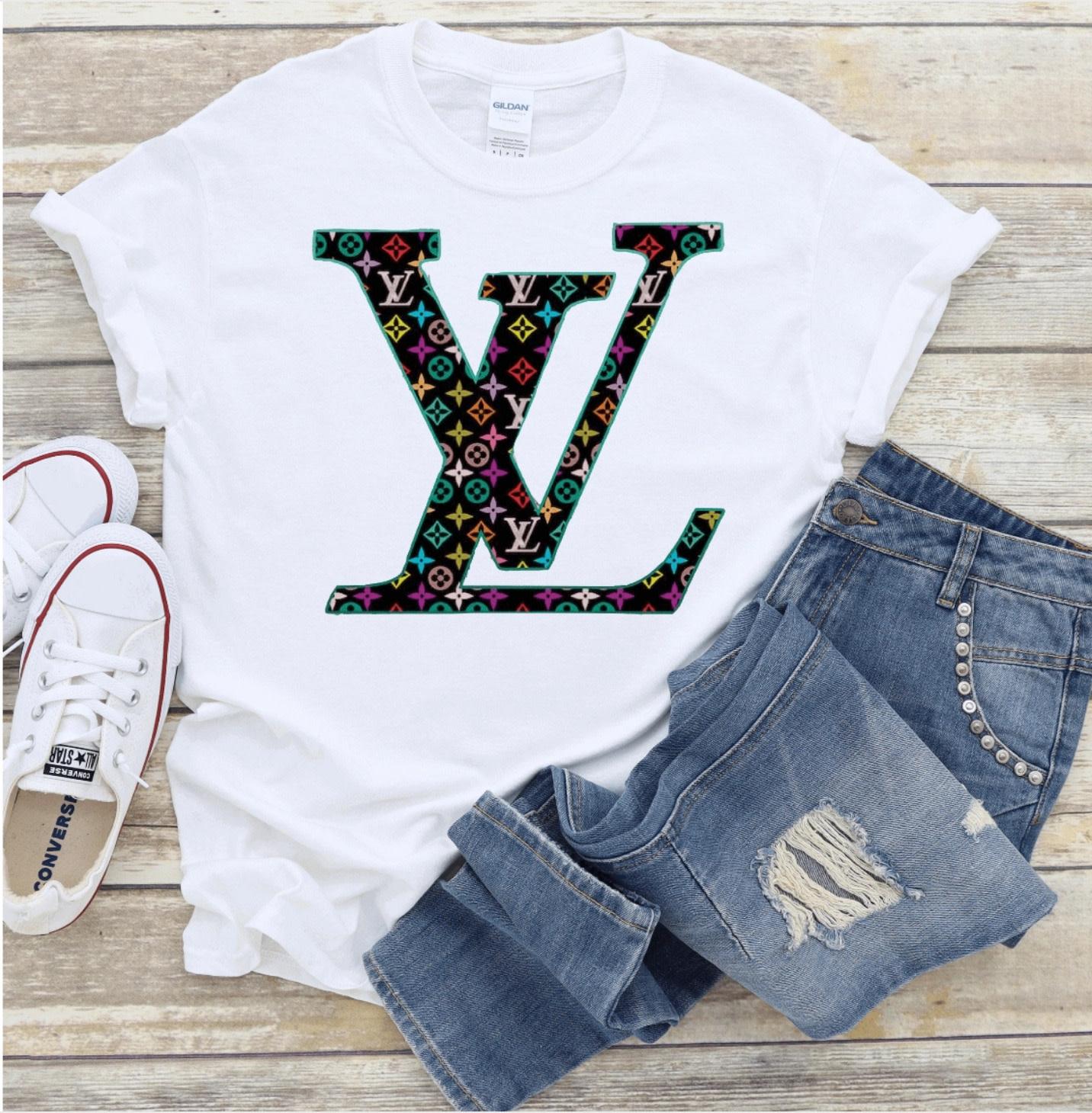 Colorful Louis Vuitton T