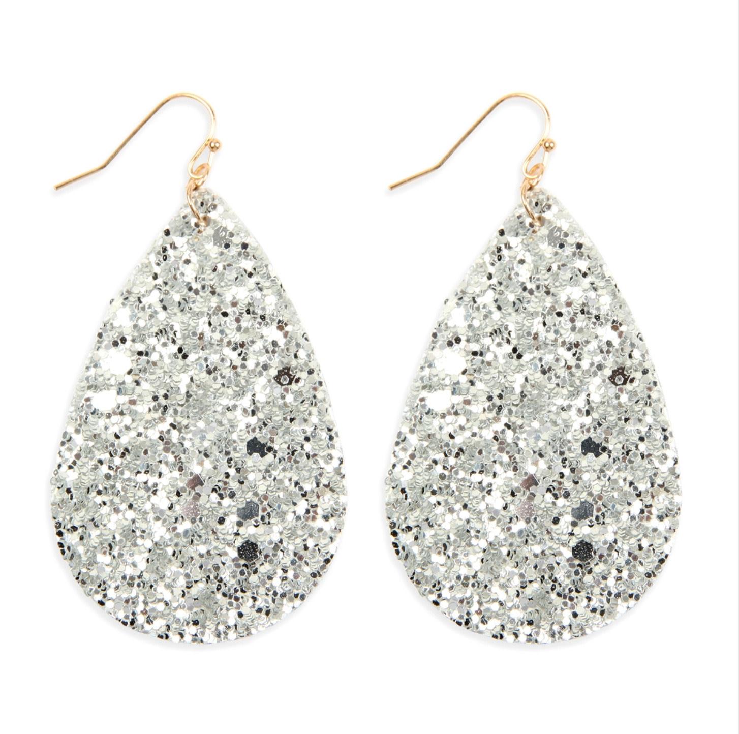 Sparkle Teardrop Earrings