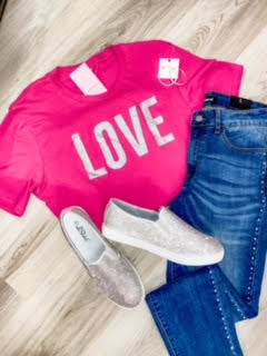 Sparkle Love  T