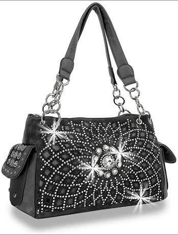 Bling Design Layered Handbag