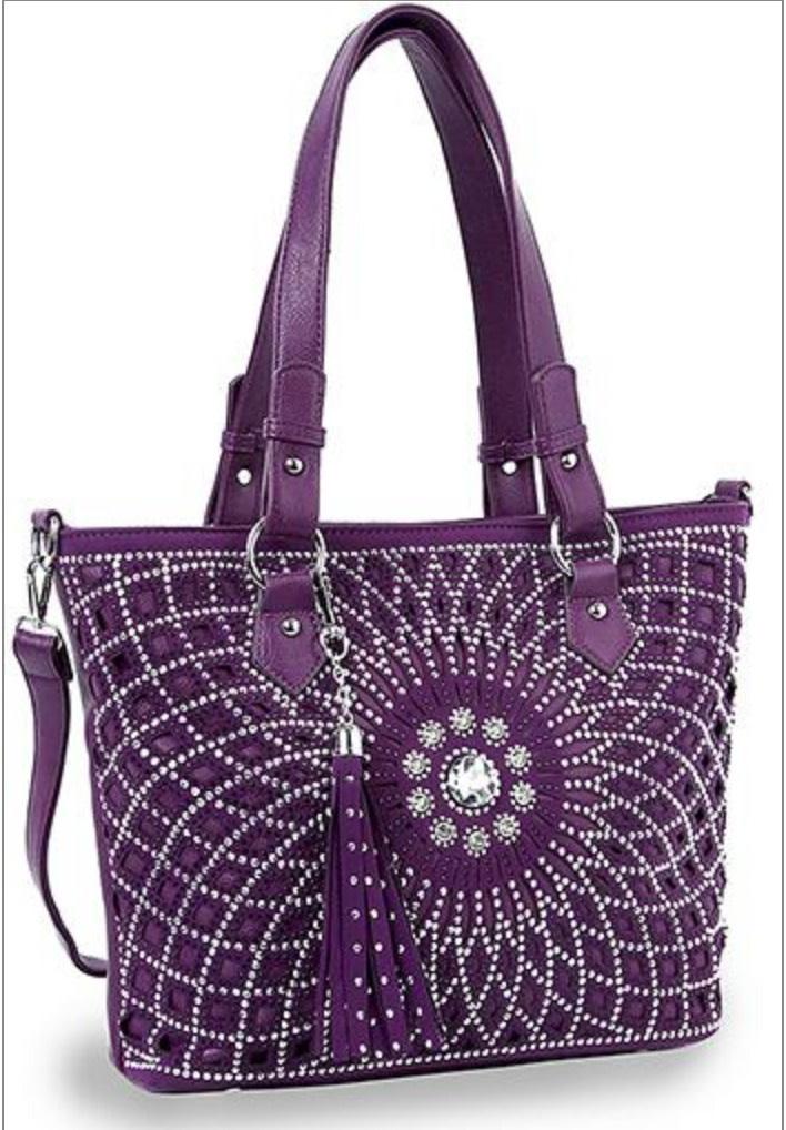 Bling Design Layered Shopper 353-PP