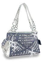 Rhinestone Covered Fashion Handbag 6222