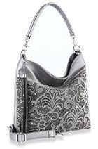Rhinestone Design Hobo Handbag 1863
