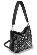Decorative Rhinestone Hobo Handbag 0015