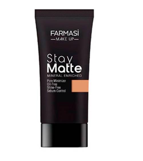 Farmasi Make Up Stay Matte Foundation- Sun Tan 05