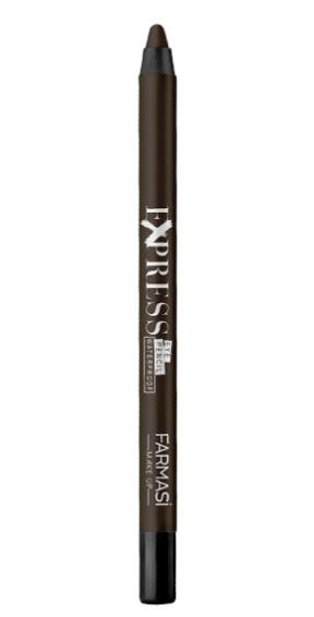 Farmasi Makeup Waterproof Express Eye Pencil Brown-04