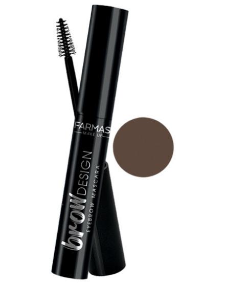 Farmasi Make Up Eyebrow Mascara- Rich Brown