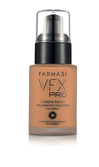 Farmasi VFX Pro Camera Ready Foundation- 12 Coffee