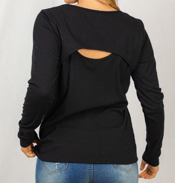 Watch The Back Cut Out Top