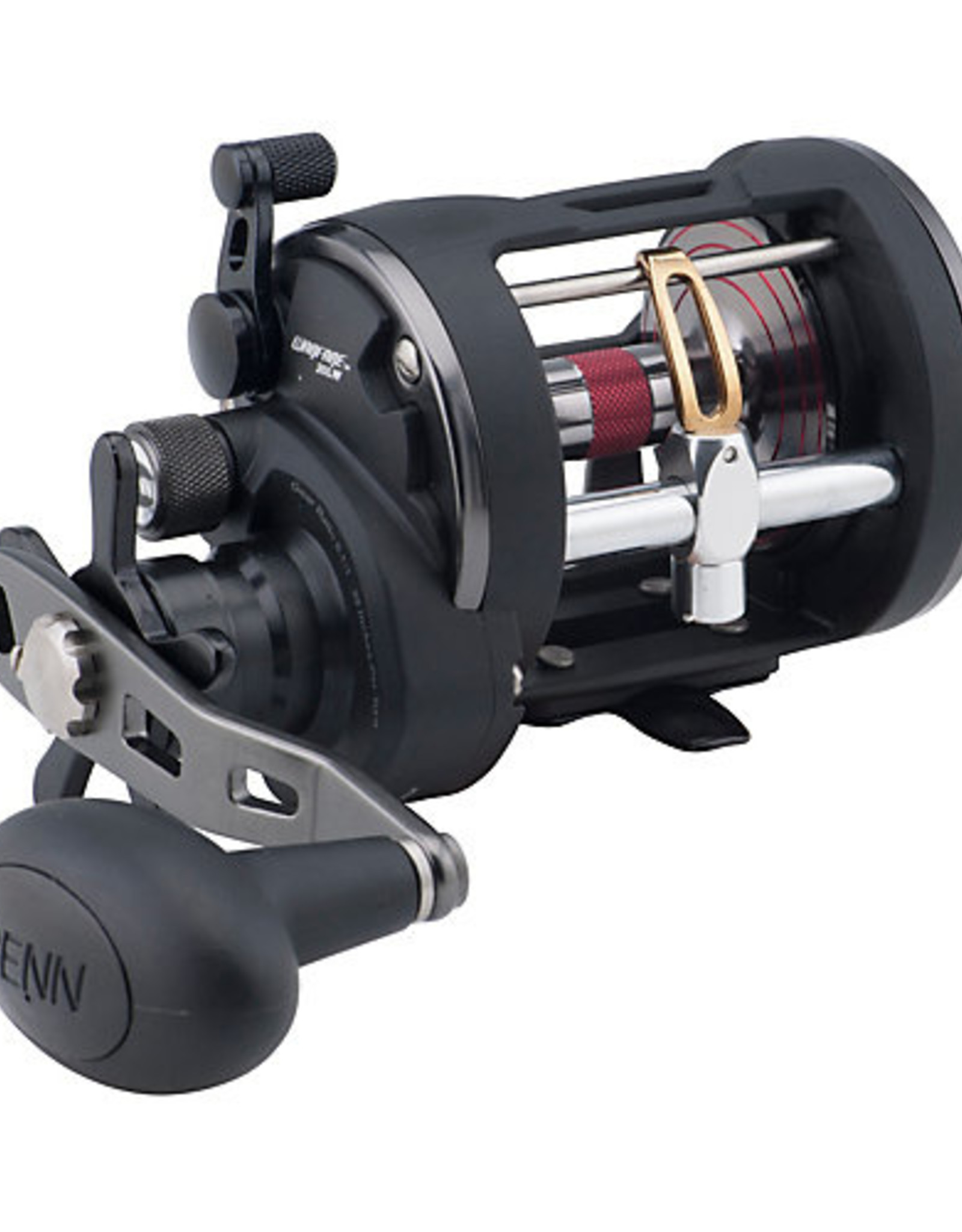 Penn Penn WAR20LW Warfare Level Wind Reel, RH, 3BB, 5.1:1 Ratio, Alum