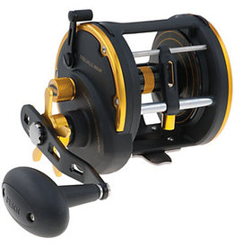 Penn Penn SQL20LW Squall Level Wind Conventional Reel, RH, 2BB + 1RB