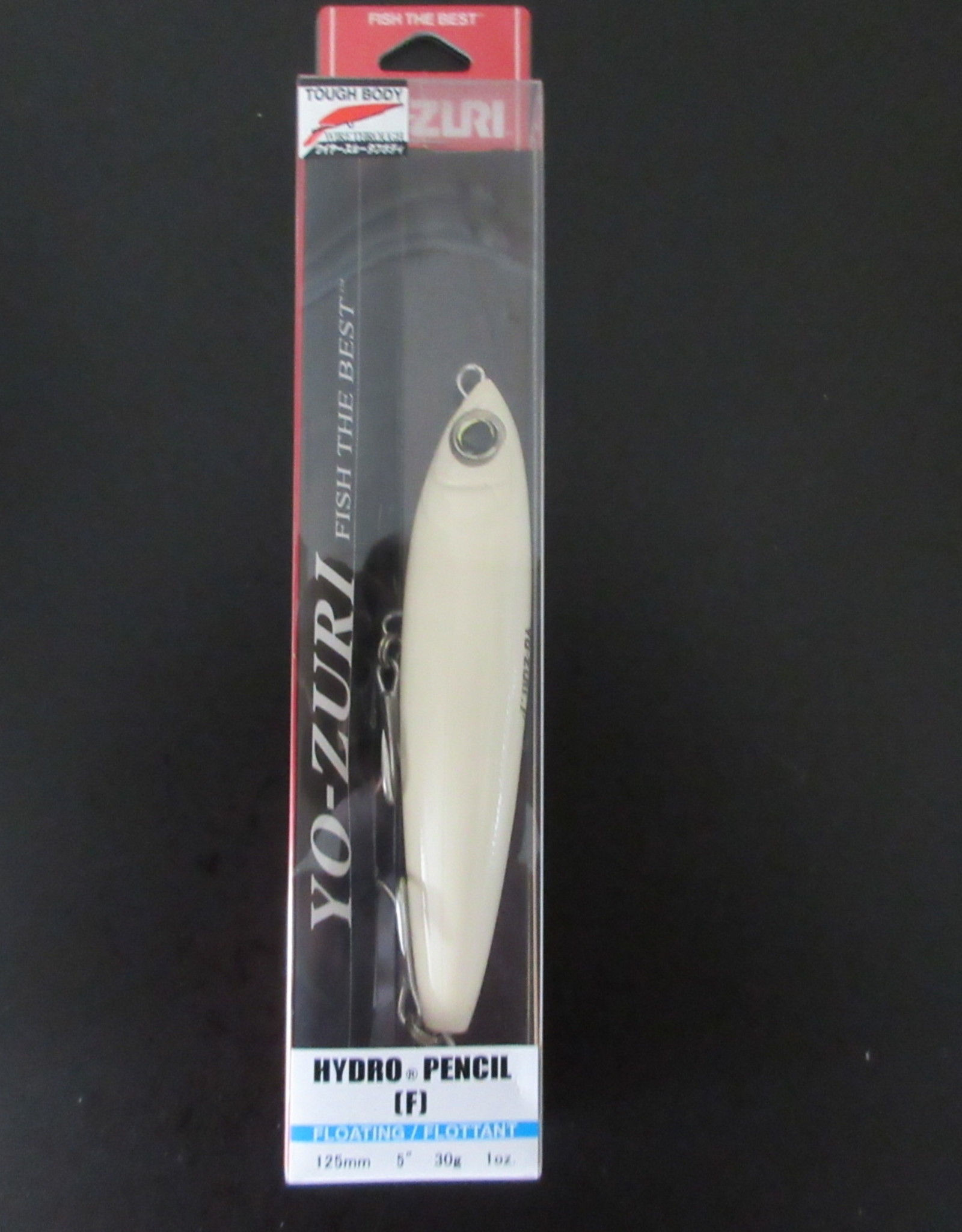 "Yo-Zuri Yo-Zuri R1153BONE Hydro Pencil Rattle Topwater Lure, 1oz 5"" 0 Ft"