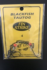 Fin Strike Fin Strike 451-4 Blackfish (Tautog) Rigs w/Red Beads #4 2Pk Virginia