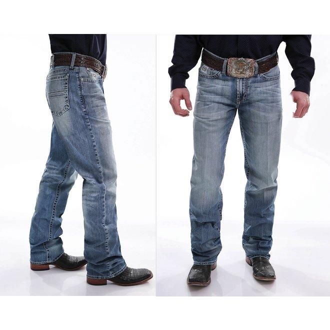 Mens Light White Label Jean
