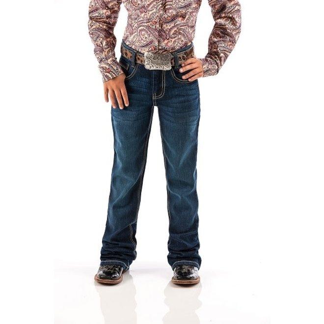 Girls Lucy Dark Slim Jeans