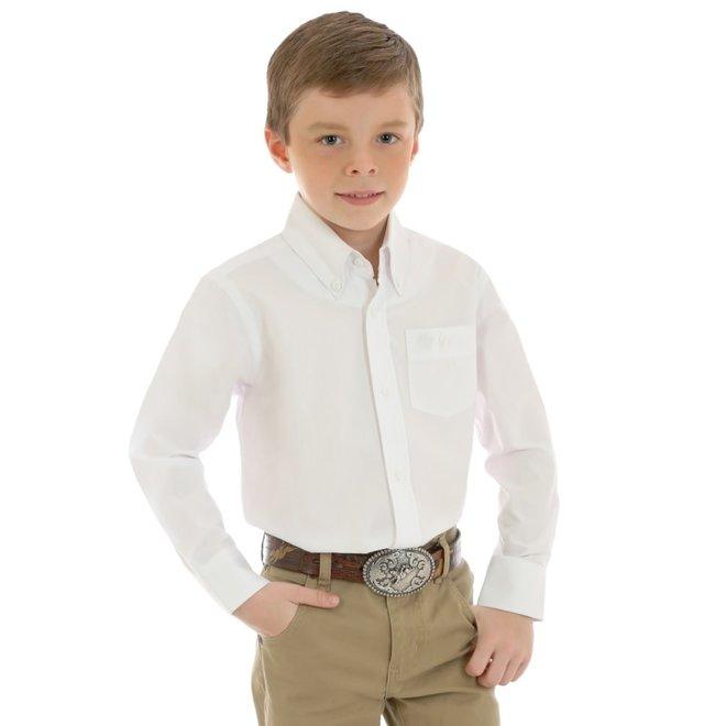 Boys Classic White Shirt
