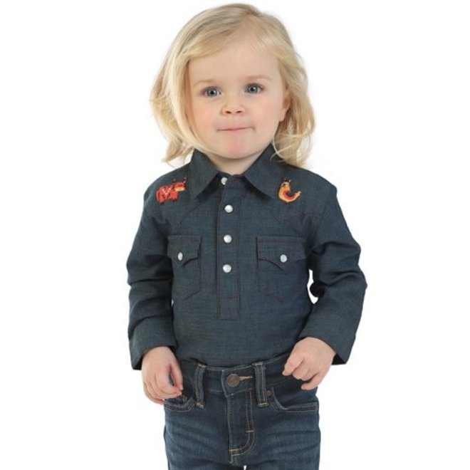Infant Western Denim Shirt
